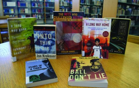 The books offered for Summer Reading 2018 are proudly displayed in the school library, and ready to be checked out by eager students.