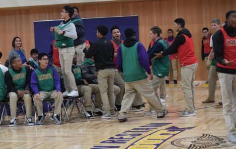 Riordan rocks out to house musical chairs