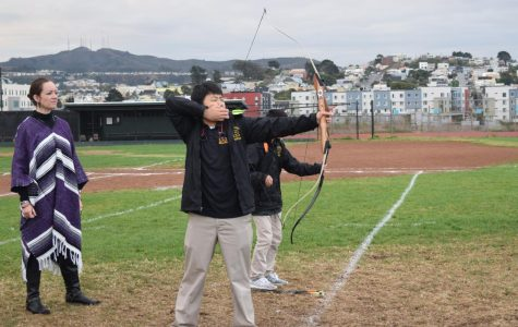 New archery class hits fun bullseye
