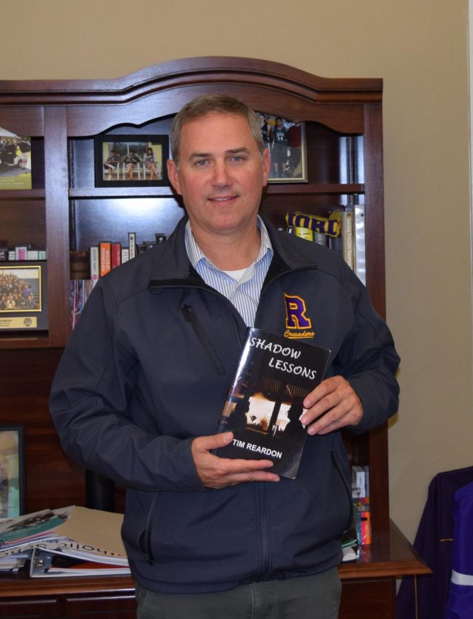 Principal Reardon's book, Shadow Lessons, was on the summer reading list this year.