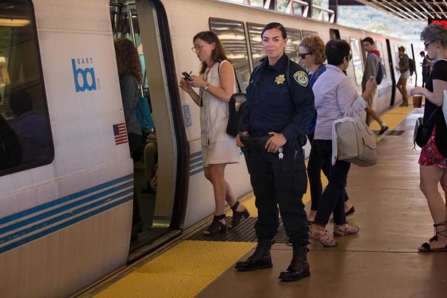 BART+has+pledged+to+step+up+security+in+the%0Awake+of+several+violent+incidents+in+the+system.