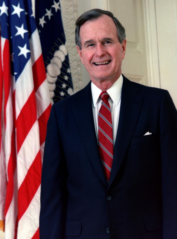 President George H.W. Bush, 1924-2018
