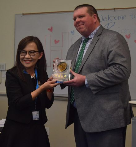 Riordan welcomes gracious guests from Taiwan