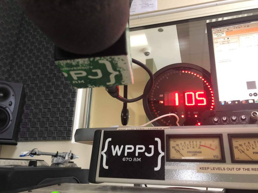 Henry Novicki '18 has his own radio show on WPPJ at Point Park University in Pittsburgh.