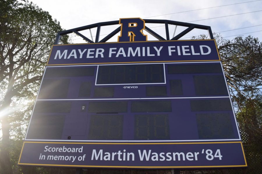 The+Mayer+Family+Field+has+a+new+scoreboard%2C+named+in+honor+of+Martin+Wassmer+%E2%80%9984.