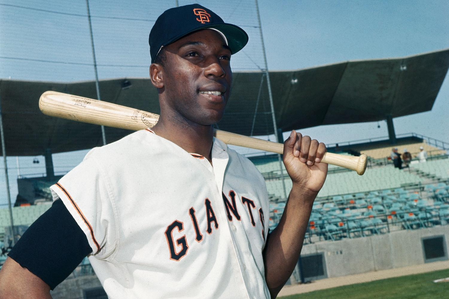 Willie McCovey was a Giants great and Hall of Famer.