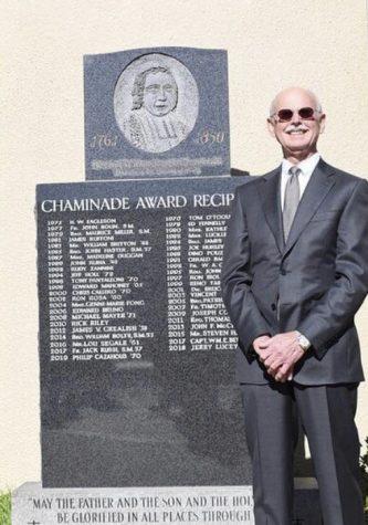 Riordan's highest honor awarded to Cazahous