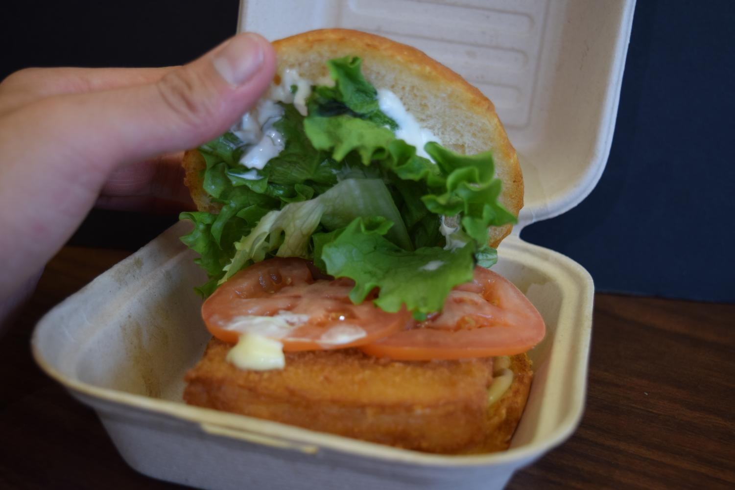 Beep's Burgers on Ocean Avenue, has a sea-worthy fish sandwich that is a perfect choice for Fridays in Lent.