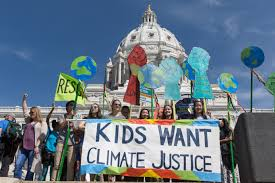 Young people from all across the country gathered in Washington, DC to call attention to the need for more work to recognize and  ght against Global Warming.