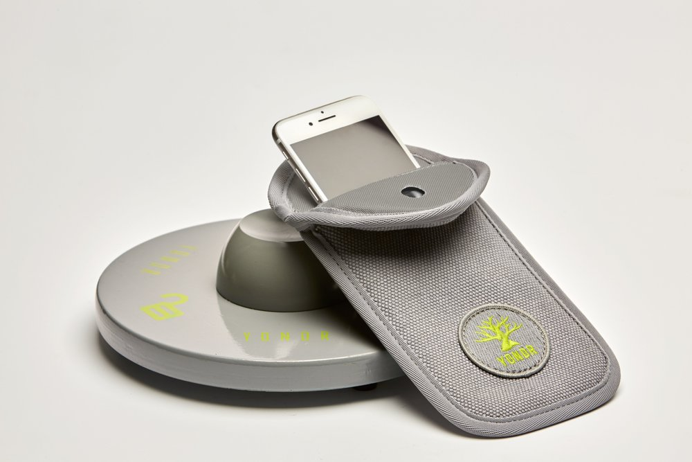 Yondr sells pouches where students can place their phone during class time and be assured it is safe and undisruptive.