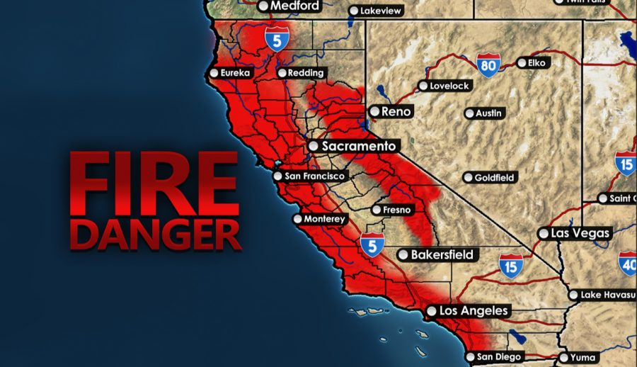 The+red+areas+represent+where+a+wildfire+is+most+likely+to+spark+this+upcoming+fire+season+due+to+fire+conditions.