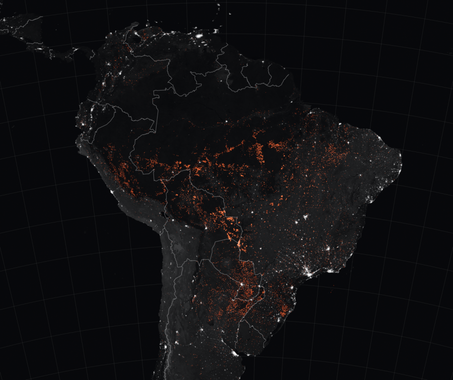 The+red+areas+active+fires+in+the+Amazon+rainforest.