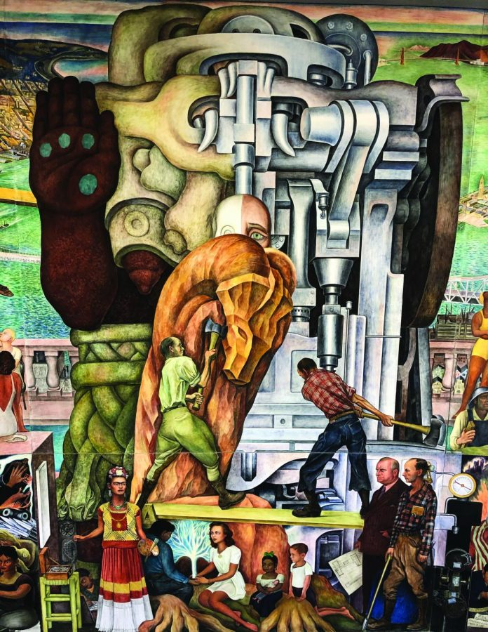 Diego Rivera's mural is moving from CCSF to SF MOMA.