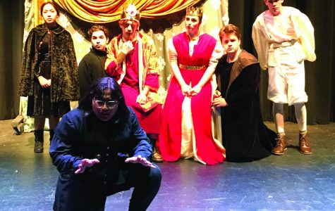 "The fall play, ""Perfect Storm,"" was directed by students."