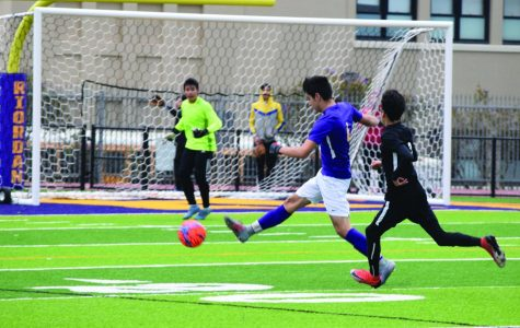 Soccer team sets new goals on new field