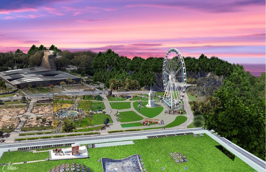 To celebrate its 150th anniversary, Golden Gate Park will add a Ferris wheel, among other features and events, this year.