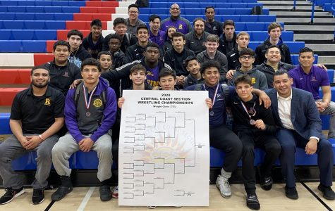 Riordan's wrestling team  finished with a 6-0 record, winning the WCAL Championship.