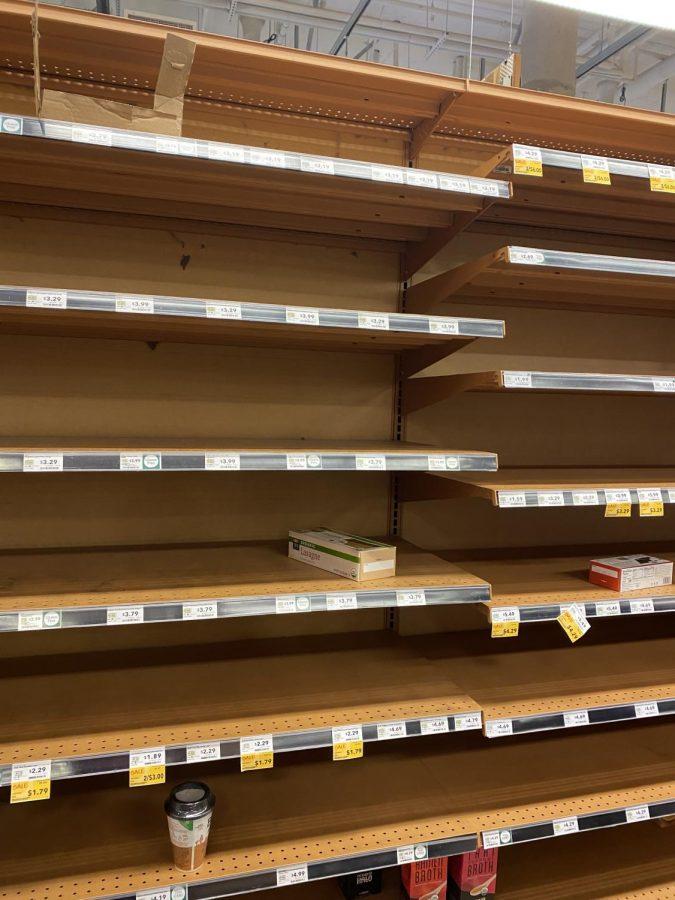 Panic hoarding reaches epidemic levels