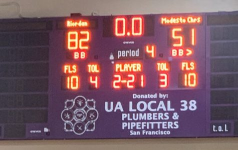 At the end of the night, the score displayed a Riordan victory.