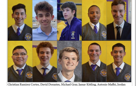 The Crusader staff featured on JEANC Student Spotlight