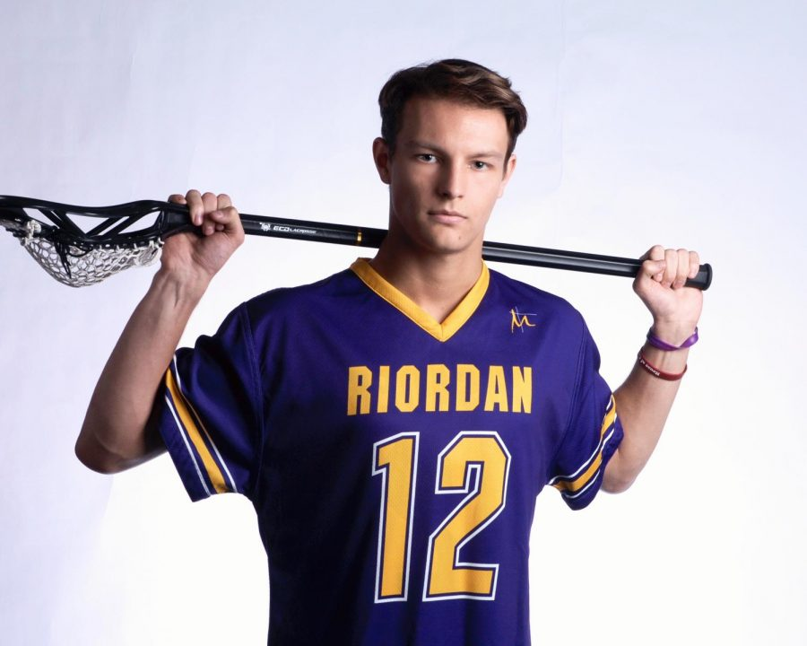Connor Rapier '20 was a leader for the lacrosse team on and off the field.