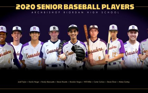 Fielding a team of their own, the senior baseball players only played a few games before the season ended abruptly in March.