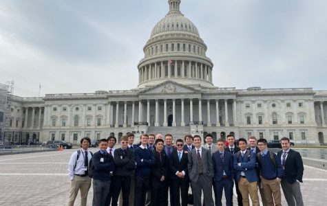 This year's Close Up participants stand in front of the U.S. Capitol building during their trip to Washington, D.C.
