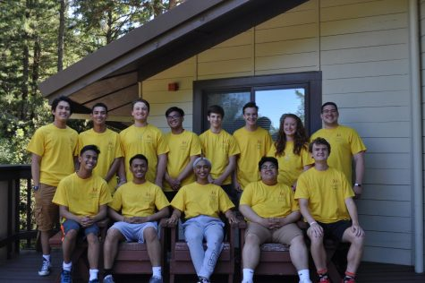 Members of the 2019-2020 LIFE Team represent Campus Ministry at a retreat in Occidental in June of 2019.