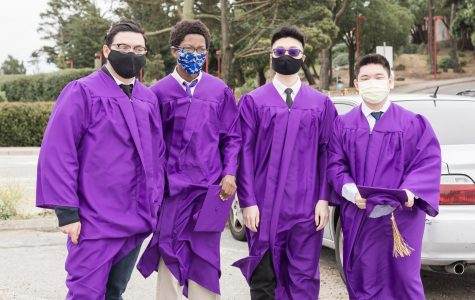 Although Riordan's last all-boys class did not have a formal graduation in the theatre, it was a memorable event for the Class of 2020.