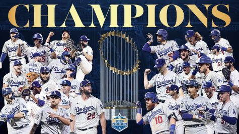 The Los Angeles Dodgers beat the Tampa Bay Rays in 6 games to win the 2020 World Series