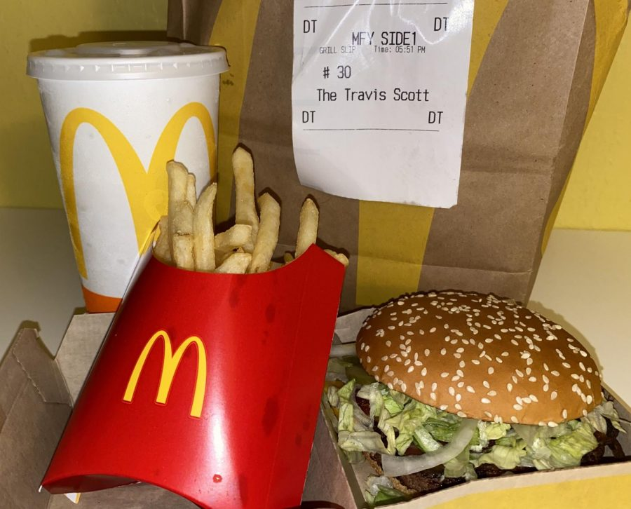 McDonald's scores partnership with Travis Scott celebrity meal