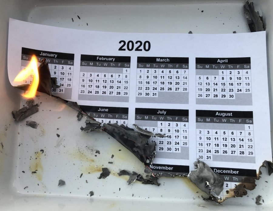 Many people are looking forward to Dec. 31, when they can finally put 2020 and all its misery behind them.