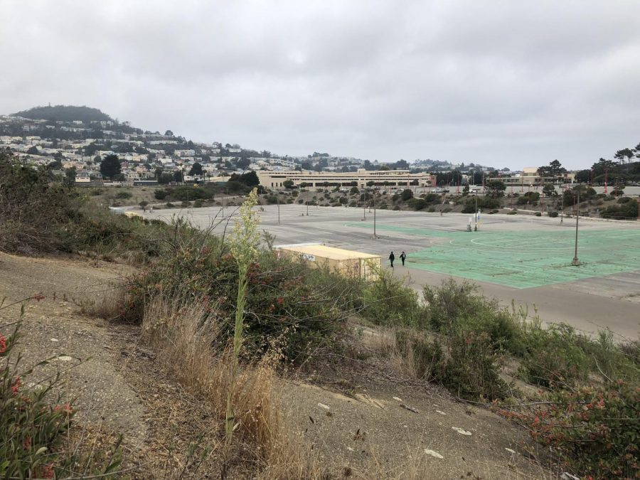 The Balboa Reservoir will develop into a community  with 1,100 units of housing.