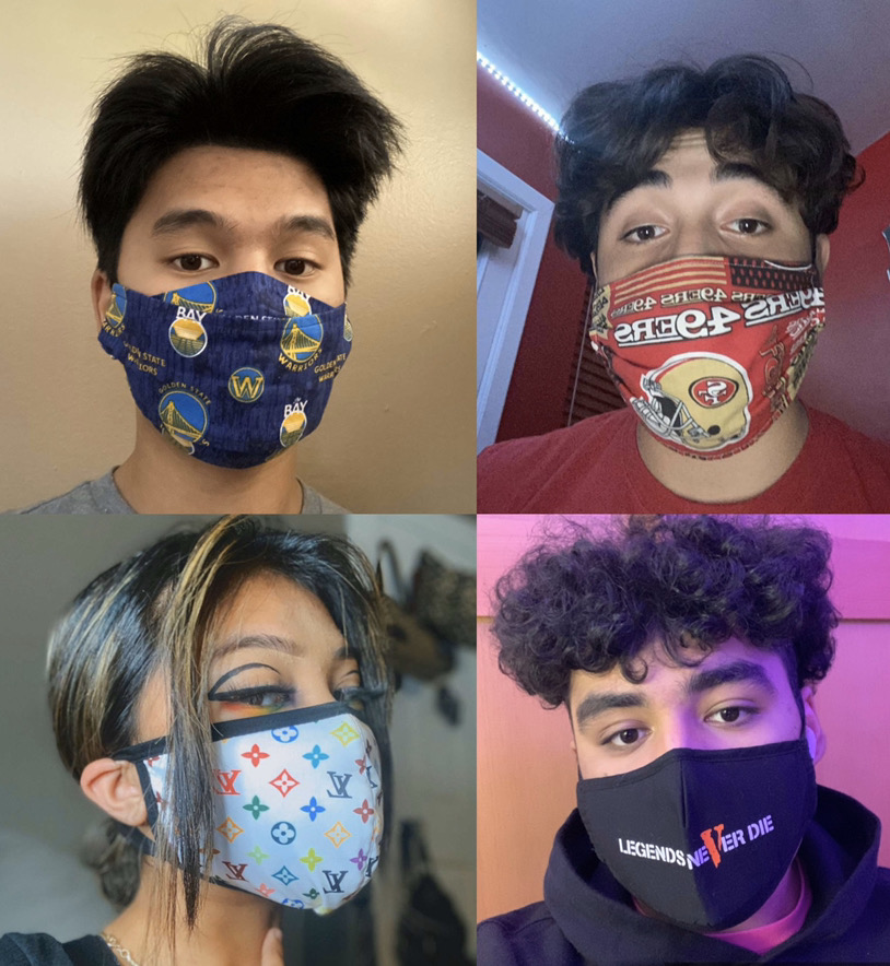 Custom face coverings have emerged to provide individuals with opportunity to express themselves during pandemic.