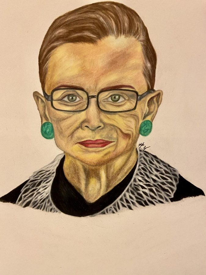 Justice+Ruth+Bader+Ginsburg+died+in+September+at+the+age+of+87.+