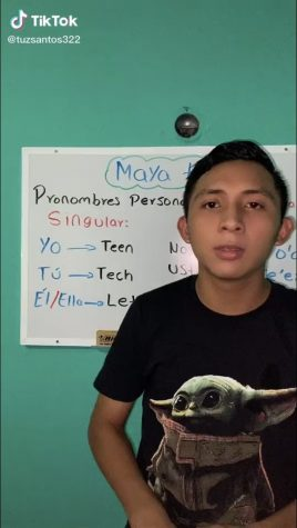 Tuz Santos started teaching the Mayan language using TikTok during the pandemic.