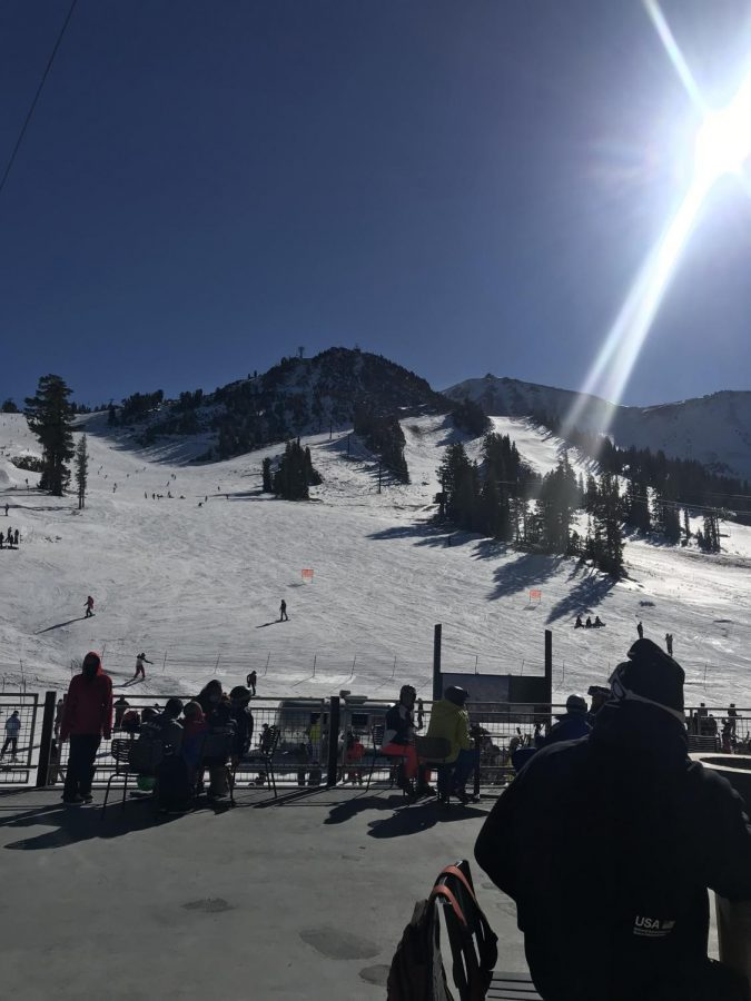 Mammoth Mountain Ski Resort has managed to stay open during the pandemic because of extra safety precautions and the nature of the sport being outdoors.
