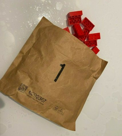 Lego has ditched plastic bags and opted for the environmentally friendly paper instead.