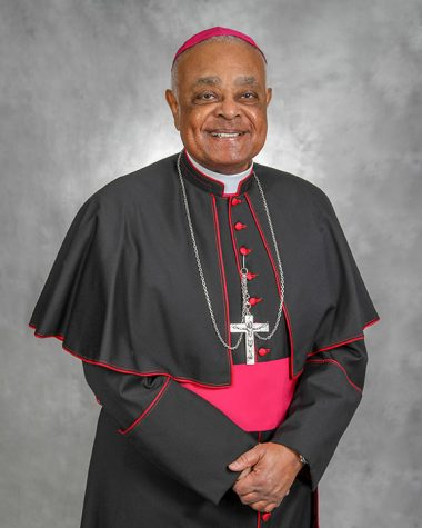 Wilton Gregory was elected by Pope Francis to be a Cardinal on November 28, 2020.