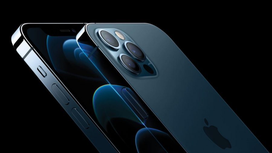Apple+introduced+its+latest+model+of+the+iPhone+in+October.