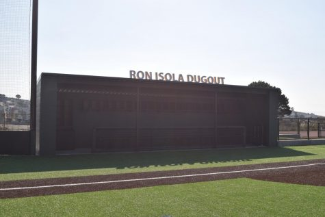 After the renovation of the baseball field, the Crusaders' dugout was named in honor of teacher, coach, and mentor Ron Isola '61.
