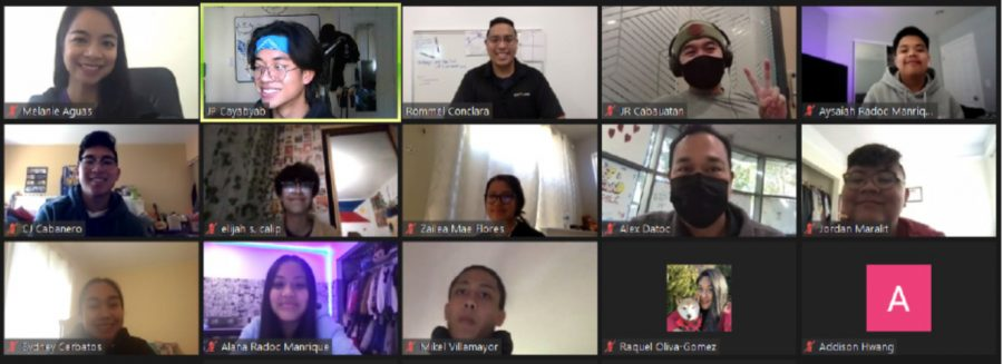 Members of the PAC Club have been meeting regularly on Zoom and have welcomed guest speakers such as journalist Rommel Conclara '03.