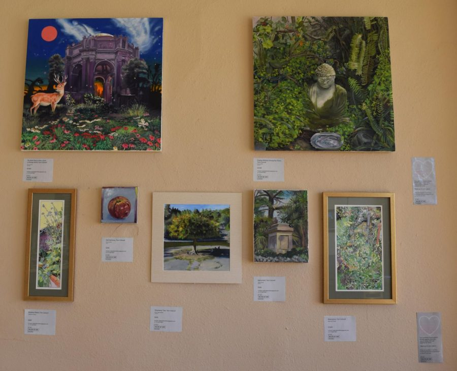 Java on Ocean coffee house is featuring several local artists for the Ingleside Art Exhibit.