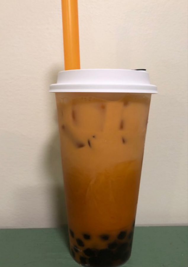 Thai tea with boba is a favorite for those who adore the chewy tapioca pearls.