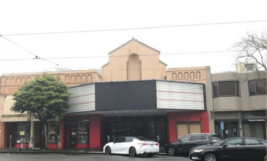 """According to cinematreasures.org, """"Built in the Moorish style, [by architects William I. Garren, Irving F. Morrow, and Bernard G. Nobler] the Portal Theatre was opened Dec. 26, 1925. Renamed Empire Cinema, it reopened Oct. 1, 1936. On June 26, 1974 it was divided into three screens. On Sept. 12, 2003 it was renamed CineArts at the Empire. It was closed permanently in January 2021."""""""