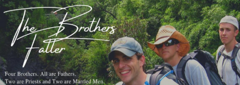 The Bothers Faller participated in a Zoom discussion about two kinds of fatherhood.