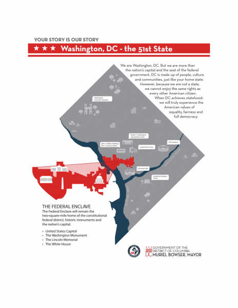 Another proposal to make the District of Columbia, Washington D.C., a state is moving through Congress.