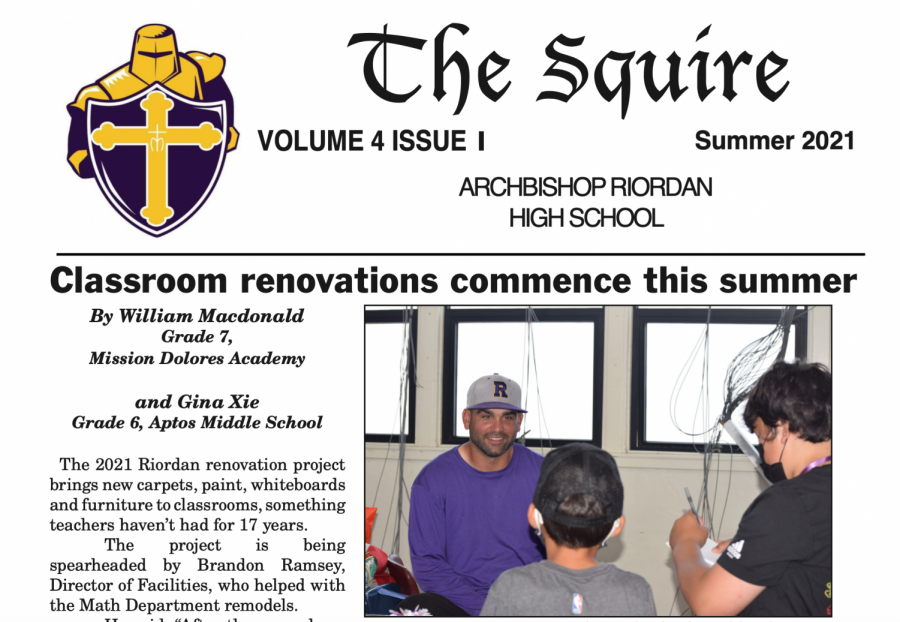 The Squire Summer 2021, Issue 1