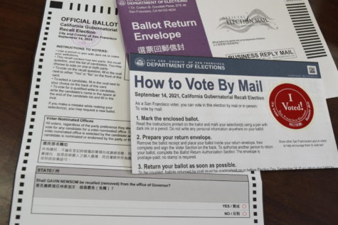 Registered voters in California received a ballot asking whether Gov. Gavin Newsom should be recalled.