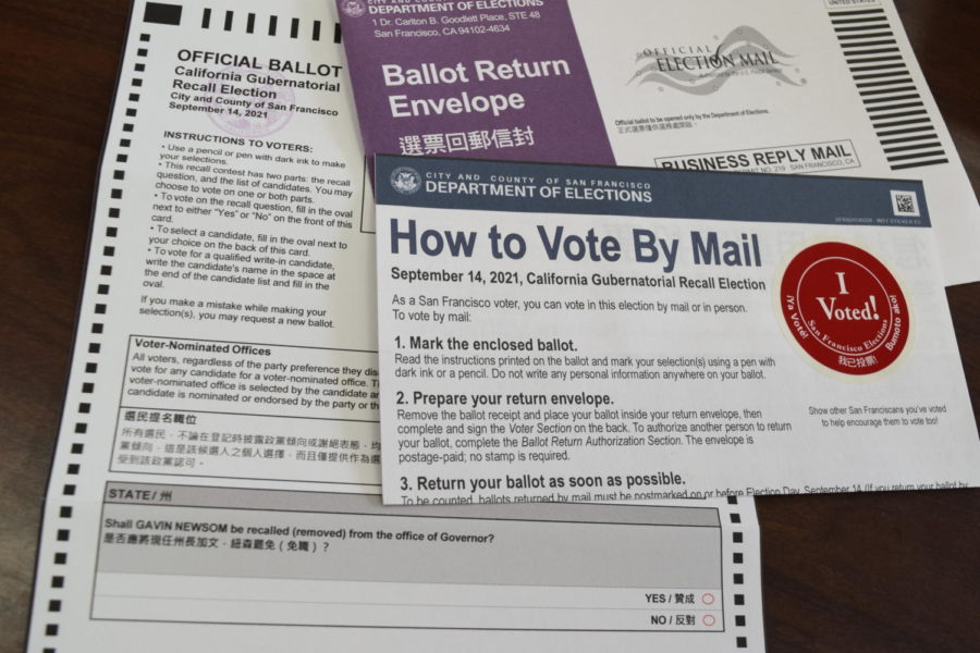 Registered+voters+in+California+received+a+ballot+asking+whether+Gov.+Gavin+Newsom+should+be+recalled.+